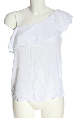 Hollister Schlupf-Bluse weiß Casual-Look
