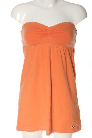Hollister Off-The-Shoulder Top light orange casual look