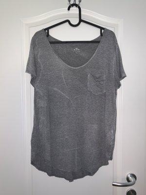 Hollister Basic Shirt light grey-grey