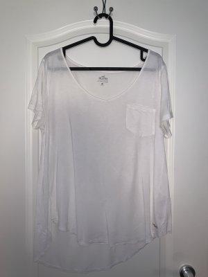 Hollister Basic Shirt white