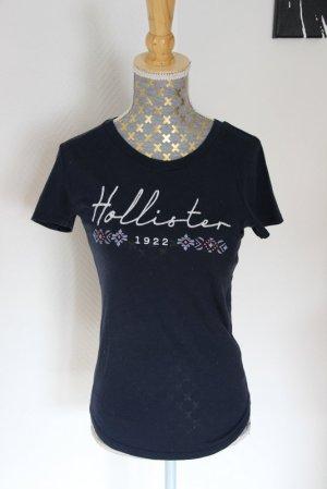 Hollister Shirt Gr. XS blau