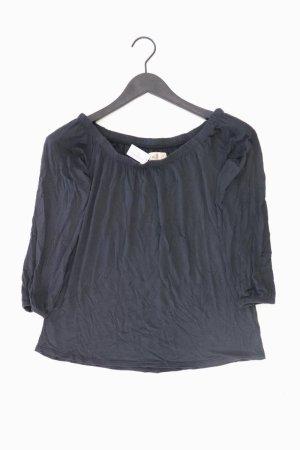 Hollister Shirt Größe S 3/4 Ärmel grau aus Viskose