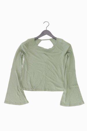 Hollister Shirt Größe S grün aus Viskose