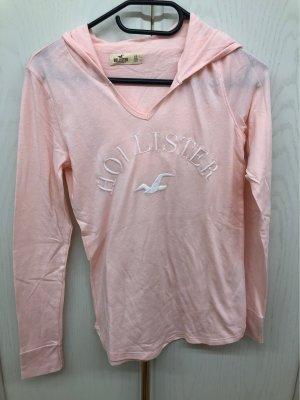 Hollister Koszulka z kapturem jasny różowy