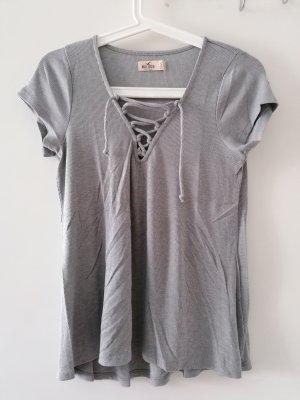 Hollister Shirt mit Schnürung