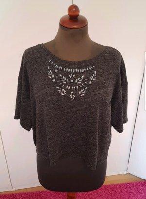 Hollister T-shirt grijs-donkergrijs