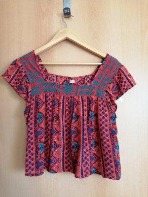 Hollister Shirt Tunic multicolored