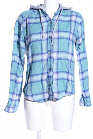 Hollister Shirt Jacket check pattern business style