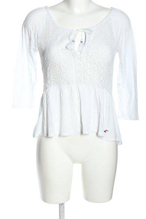 Hollister Tunika biały W stylu casual
