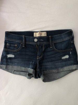 Hollister Short en jean bleu-bleu foncé