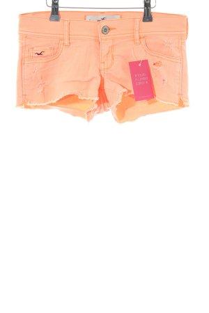 Hollister Shorts hellorange Casual-Look