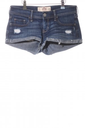 Hollister Shorts blau Casual-Look