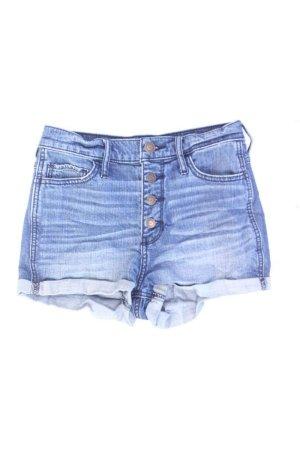 Hollister Shorts Größe W25 blau aus Baumwolle