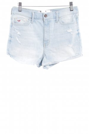 Hollister Shorts himmelblau Casual-Look