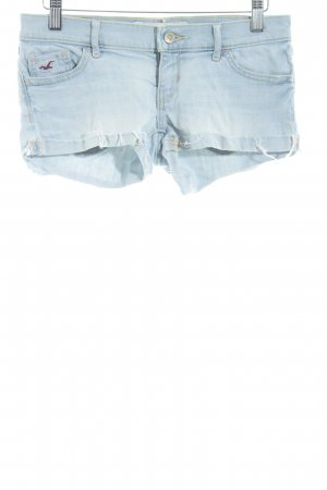 Hollister Shorts himmelblau Washed-Optik