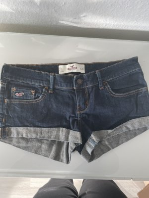 Hollister Shorts dark blue-blue
