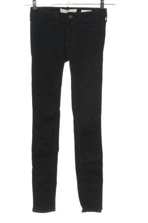 Hollister Skinny Jeans schwarz Casual-Look