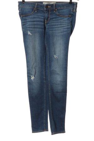 Hollister Skinny Jeans blau Casual-Look