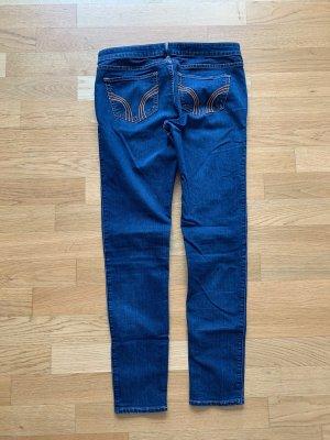 Hollister Skinny Jeans dunkelblau Gr W29/L30