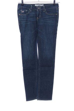 Hollister Jeans skinny blu stile casual