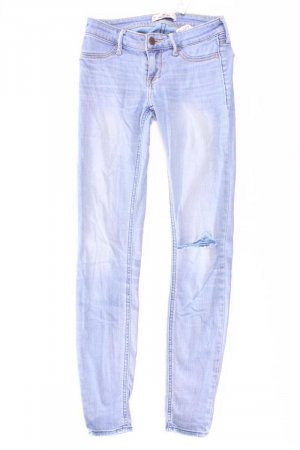 Hollister Skinny Jeans Größe W24/L29 blau