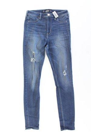 Hollister Skinny Jeans Größe W27 blau