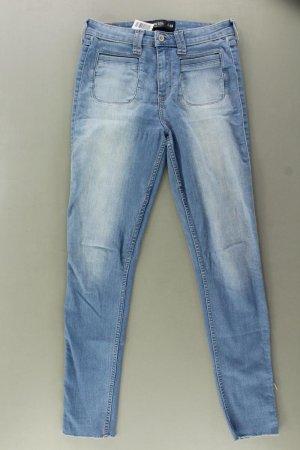 Hollister Skinny Jeans Größe W28 blau