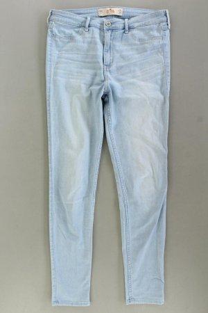 Hollister Jeans skinny blu-blu neon-blu scuro-azzurro Cotone