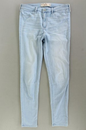 Hollister Skinny Jeans Größe W30 blau aus Baumwolle