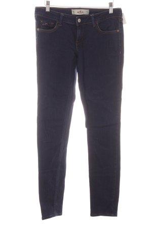 Hollister Skinny Jeans hellbraun-dunkelblau Casual-Look