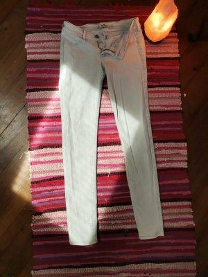 Hollister Skinny Jeans hellgrau/blau