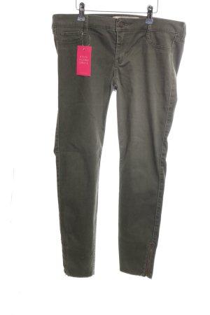 Hollister Skinny Jeans hellgrau Casual-Look