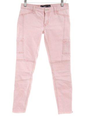 Hollister Skinny Jeans rosé Casual-Look