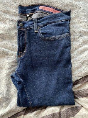 Hollister Pantalone a sigaretta blu scuro Denim
