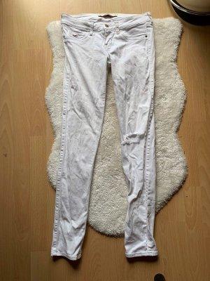 Hollister Skinny Jeans weiß