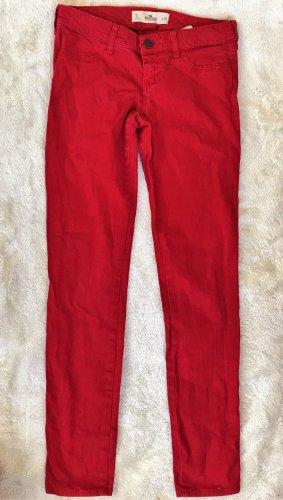 Hollister Vaquero slim rojo ladrillo Algodón