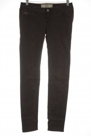 Hollister Slim Jeans braun Casual-Look