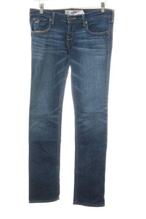 Hollister Slim Jeans dunkelblau Casual-Look