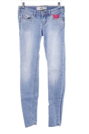 Hollister Slim Jeans himmelblau-kornblumenblau Casual-Look