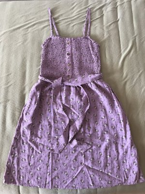 Hollister smocked belted dress