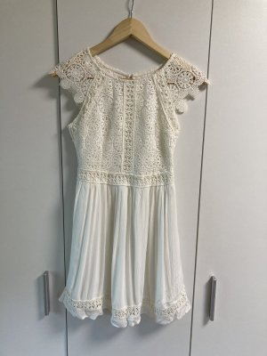 Hollister Sommerkleid mit Spitze XS