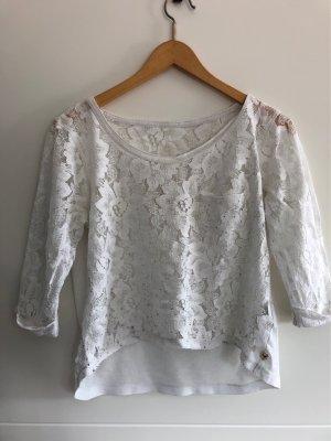 Hollister Netshirt wit