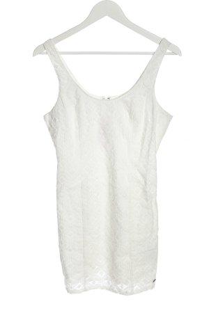 Hollister Mini Dress white allover print elegant