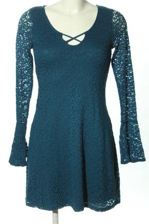 Hollister Spitzenkleid blau Elegant