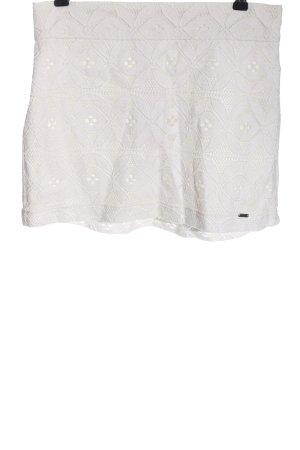 Hollister Lace Skirt white elegant