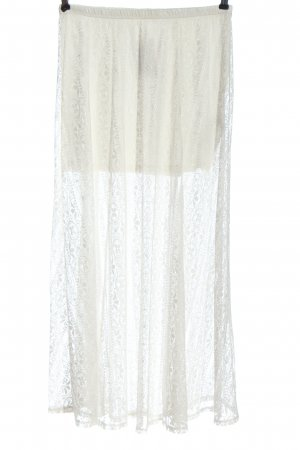 Hollister Lace Skirt white casual look