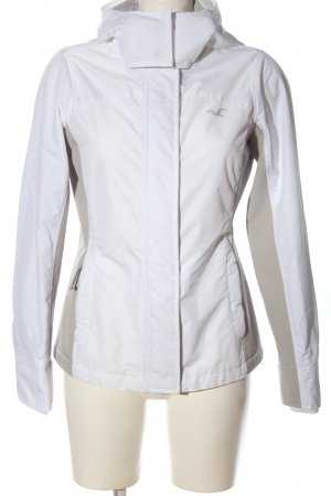 Hollister Sports Jacket white-natural white themed print casual look