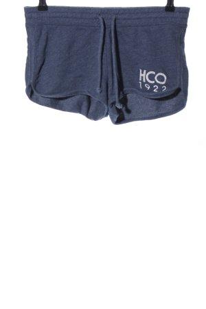 Hollister Sportshorts blau meliert Casual-Look