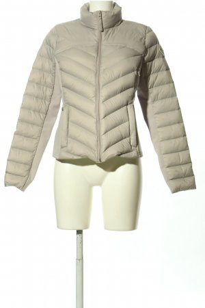 Hollister Steppjacke hellgrau Steppmuster Casual-Look