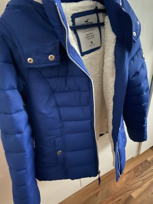 Hollister Quilted Jacket blue-white